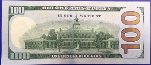 100 dollars 2013 Etats-unis billet neuf collection