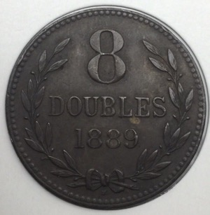 Guernesey 8 doubles 1889