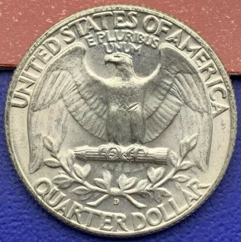 Pièce un quart Dollar Washington 1964 D, Etats-Unis