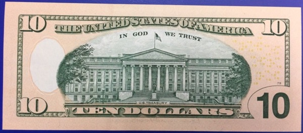 Etats-Unis Billet 10 dollars 2013 Atlanta NEUF