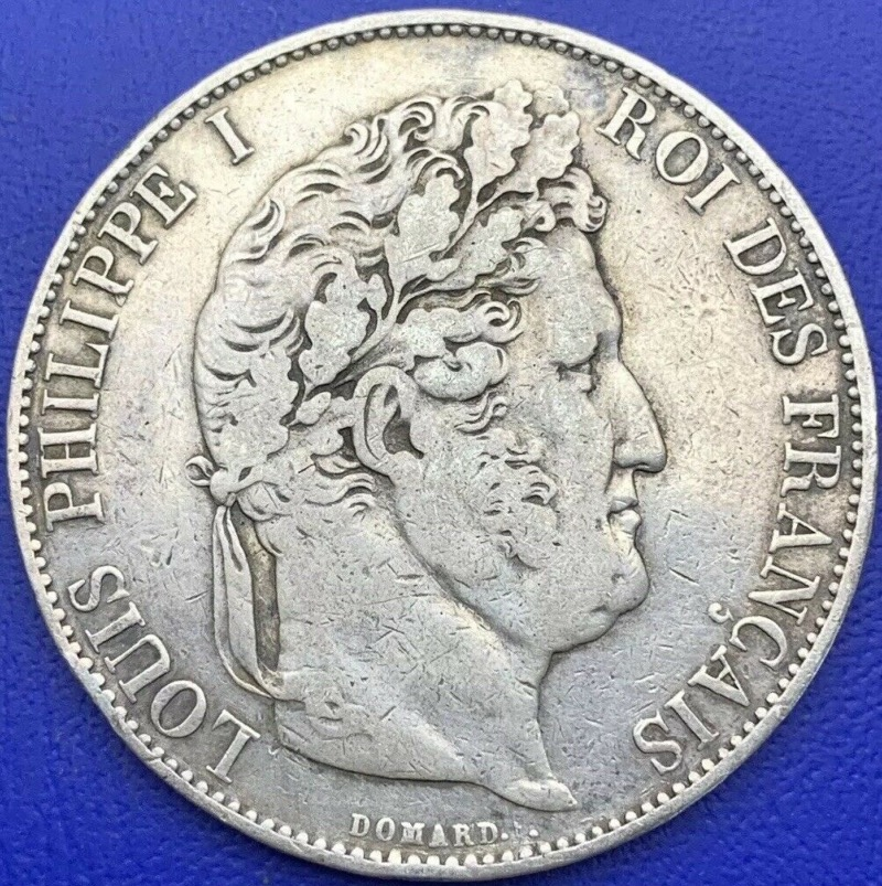 5 francs Louis Philippe I 1844 W