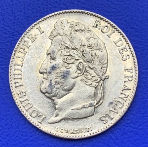 20 Francs or Louis Philippe Ier 1847A