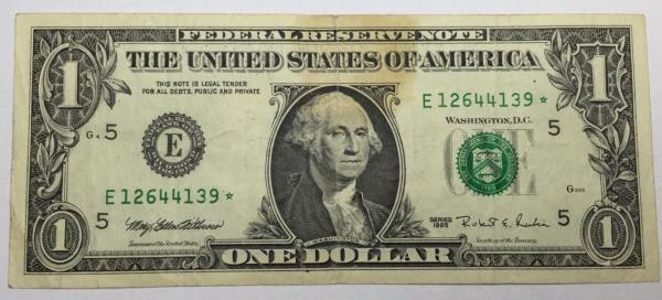 Billet 1 Dollar STAR * 1995 Etats-unis