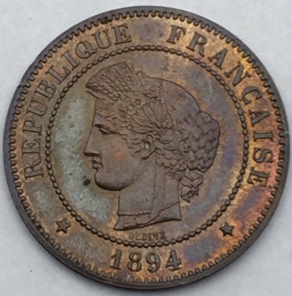 Ceres 5 centimes 1894 A