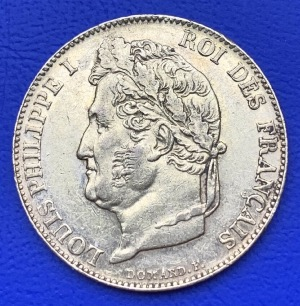 20 Francs or Louis Philippe Ier 1844 W