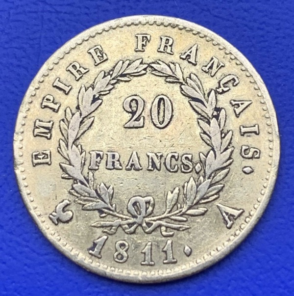 20 Francs or Napoléon 1811 A