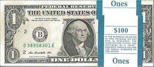 1 dollar 2013 Etats-Unis billet neuf collection