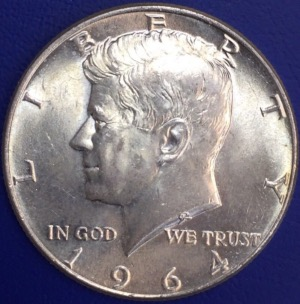 Etats-Unis Half dollar Kennedy 1964