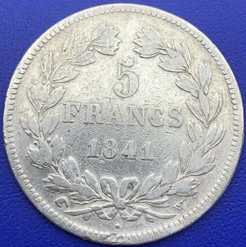5 francs Louis Philippe I 1841 W