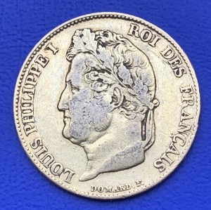 20 Francs or Louis Philippe Ier 1834A