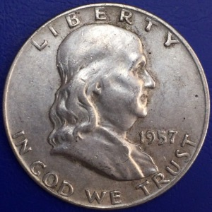 Half dollar Franklin 1957 États-Unis Denver