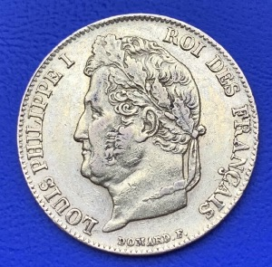 20 Francs or Louis Philippe Ier 1840 A