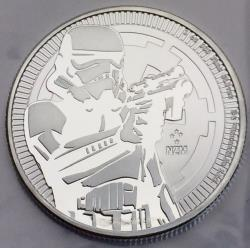 2 dollars star wars stormtrooper 2018 1 oz argent pur