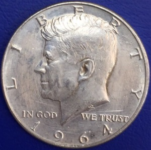 Half dollar 1964 Kennedy États-Unis Denver