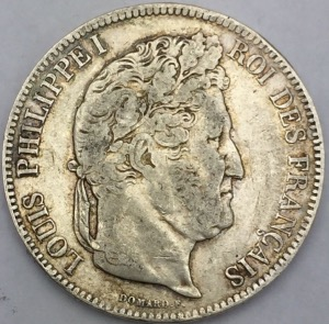 5 francs Louis Philippe Ier 1832 MA