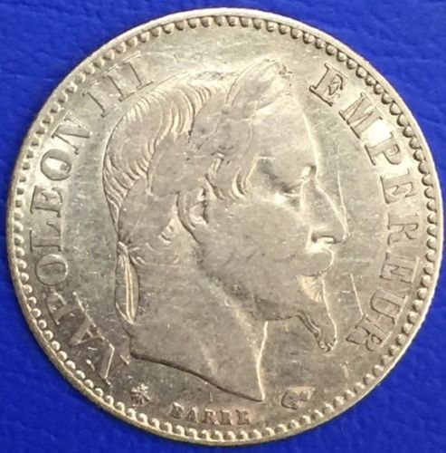 France - 10 francs or - Napoleon III Tête laurée - 1862 A