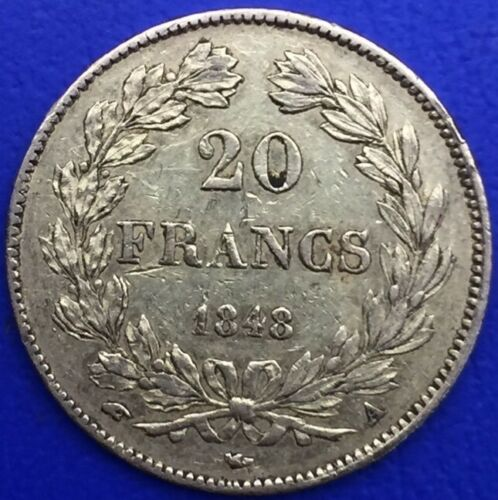 Monnaie Or, 20 Francs Or, Louis Philippe I 1848 A, Paris