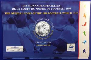 BU 1 franc Coupe du Monde de Football 1998